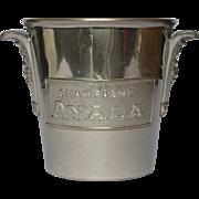 Vintage French Champagne Ice Bucket / Wine Bucket / AYALA Champagne