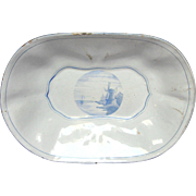 French Graniteware Enamel Tray