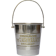 French Champagne Ice Bucket - Pail - de Castellane