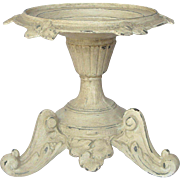 Ornate French Pedestaled Candle Holder