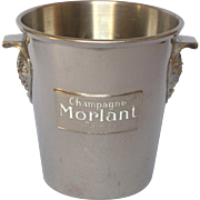 French Champagne / Ice Bucket / Pail / MORLANT