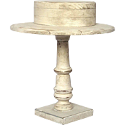 Substantial Wooden Hat Stand From France - Skimmer / Boater's Hat