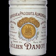 Polychrome French Preserve Crock - DAMOY Jam Jar