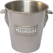 Vintage French Champagne - Wine - Ice Bucket - MORLANT