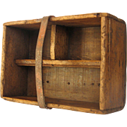 French Home-Made Wooden Garden - Tool Trug - Caddy - Basket - Tray -Box