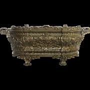 French Brass Planter - Jardiniere