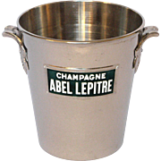 French Publicity Ice / Champagne Bucket