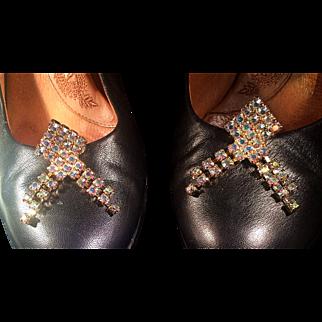 Fabulous Musi Aurora Borealis Shoe Clips