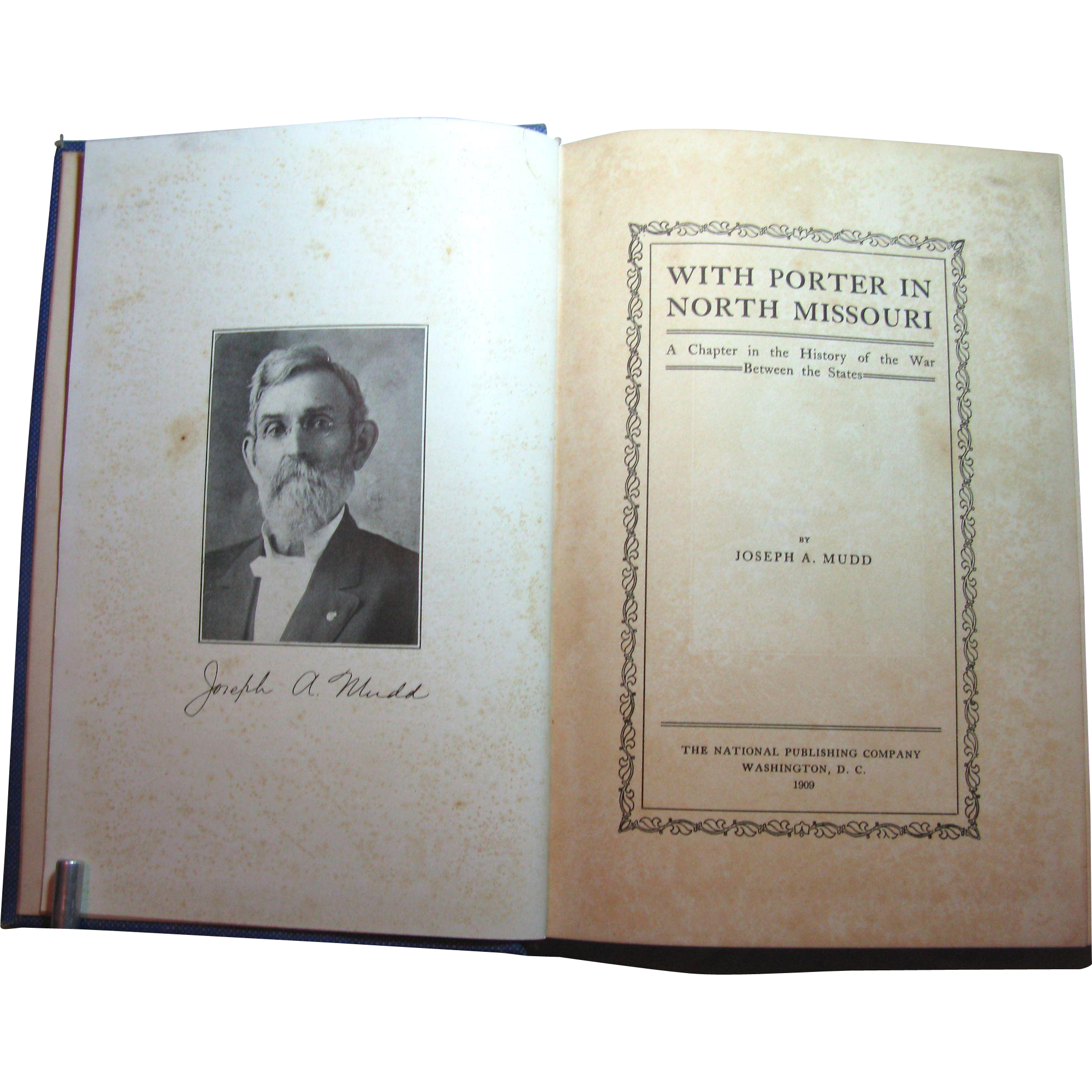 With Porter in North Missouri - Civil War Book
