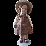 Vintage 1981 R. John Wright Little Children BECKY Doll in Original Box