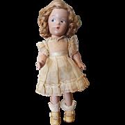 """Vintage 1930's Madame Alexander 9"""" Wendy Ann Doll all Original"""