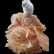 "Vintage 1940's Italy Felt Lenci Mascotte Doll 9 1/2"""