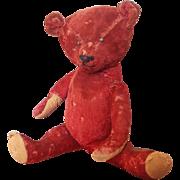 """Vintage 1920's RARE Large Mohair Teddy Bear 23 1/2"""""""