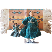 "Wood Folk Art Judy Brown HITTY Comes to Albuquerque 6"" Doll"