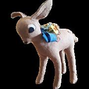 "Vintage 1940's Italian Lenci Felt Walt Disney BAMBI Deer Toy Figure 6"""
