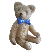 Wonderful Vintage 1920's Golden Mohair Teddy Bear