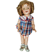 1934 Composition Ideal Shirley Temple Doll 22""