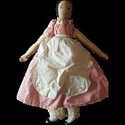 1960's Alice Wainwright Wooden Polly Shorrock Doll