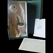 "2005 R. John Wright First Doll Replica 8"" Doll #126 in Box"