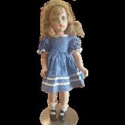 """1930's Madame Alexander 18"""" Wendy Ann Doll"""