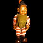 Vintage 1979 NIADA Doll Artist Patti Hale Carved Wood ElF Doll
