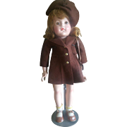 """Vintage 22"""" Effanbee Composition W.A.V.E. Doll"""