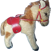 "Vintage 1950's Steiff Horse Pony 5"""
