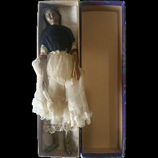 Antique 1800's Milliner's Model Doll all Original Possible Original Box