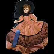 "Vintage 1957 Nancy Ann Storybook 17"" Style Show Doll"