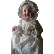 """Antique 1919 J.D.K. Herm Steiner 16"""" Character Baby Doll"""