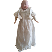 Antique Early 1900's Laughing Bisque Head Doll