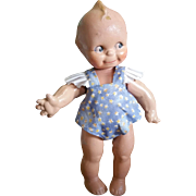 "Vintage Rose O'Neill 13"" Composition Kewpie Doll"