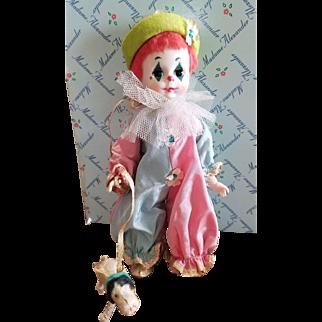 1955 Madame Alexander #465 Baby Clown Doll