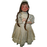 Antique Late 1800's French Roullet & Decamps Automaton Dancing Rocking Nurse Doll