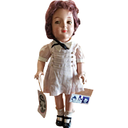 """Rare 1937 Madame Alexander 19"""" Jane Withers Doll"""