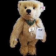 "2012 Steiff 12"" Blonde Center Seam Teddy Bear"