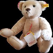 """Vintage Steiff 15 1/2"""" Margaret String Cream Mohair bear"""
