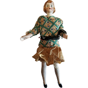 Vintage Early 1900's Bisque Dollhouse Doll