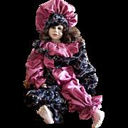 """Vintage 1995 Vlasta Pat Thompson 28"""" One of A Kind Doll"""