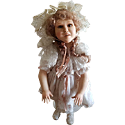 Vintage Vlasta Pat Thompson One of A Kind Girl With Pigtails Doll