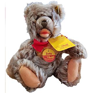 """Vintage Steiff 9"""" Mohair Zotty Teddy Bear All I.D."""