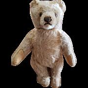 """Vintage Steiff 6 1/2"""" Mohair Teddy Bear with Button"""