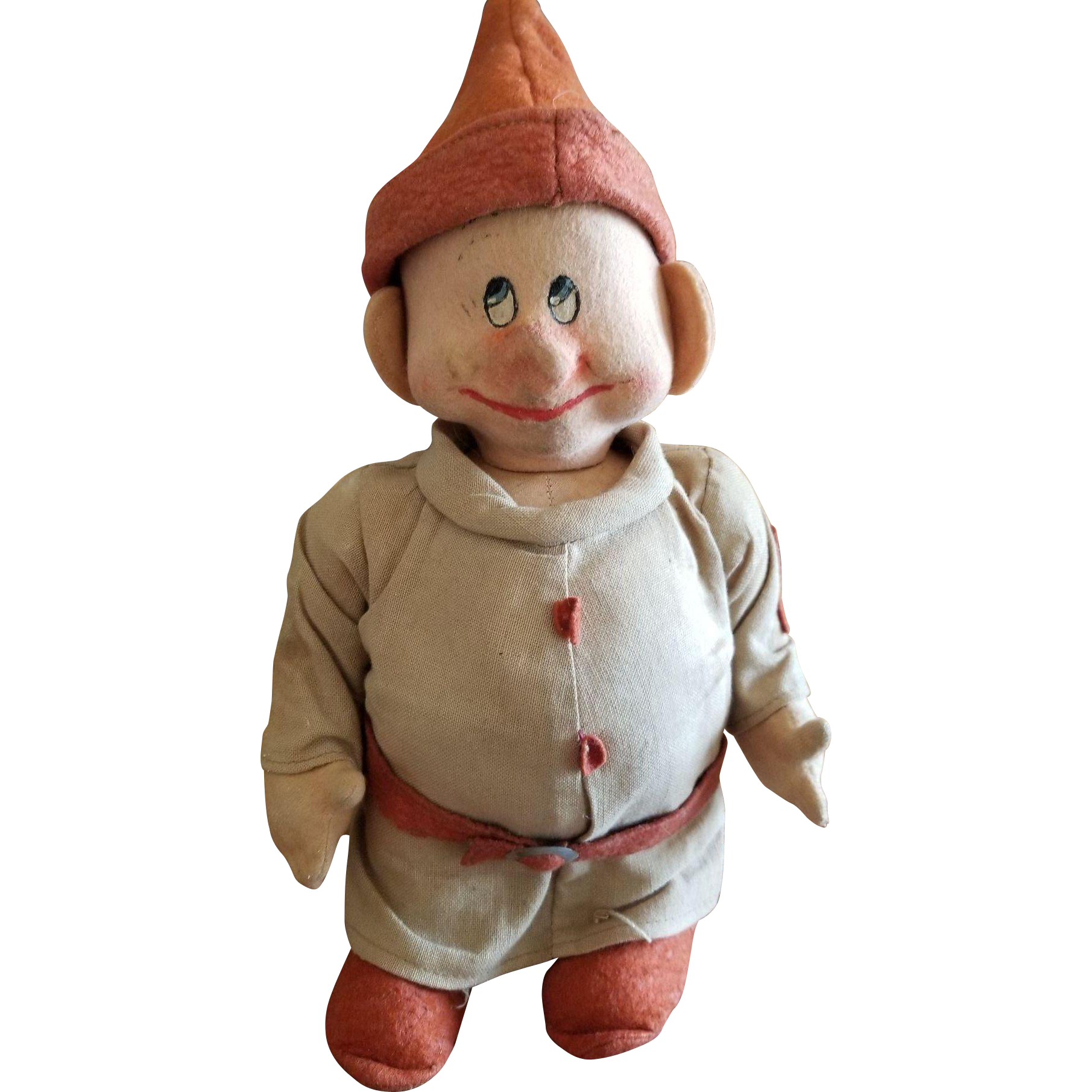 Vintage 1930's Chad Valley Snow White Dopey Doll