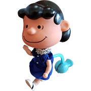 Mattel 1968 Peanuts Lucy Skediddles Doll