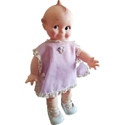 Vintage 1960's Cameo Rubber Girl Kewpie Scootles Doll