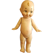 Vintage All Bisque Googly Kewpie Brother Or Sister Jointed Legs