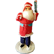 Vintage Made in Japan Christmas Santa Clause Figure