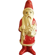 Vintage 1940's Irwin Celluloid Santa Toy Doll