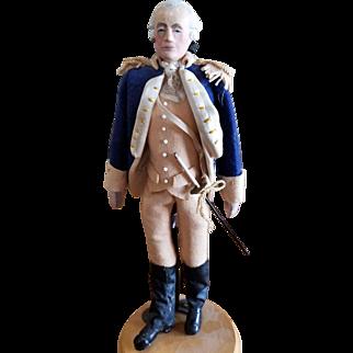 Wonderful Vintage Artist George Washington Doll