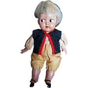 Vintage 1920's Celluloid Googly Doll
